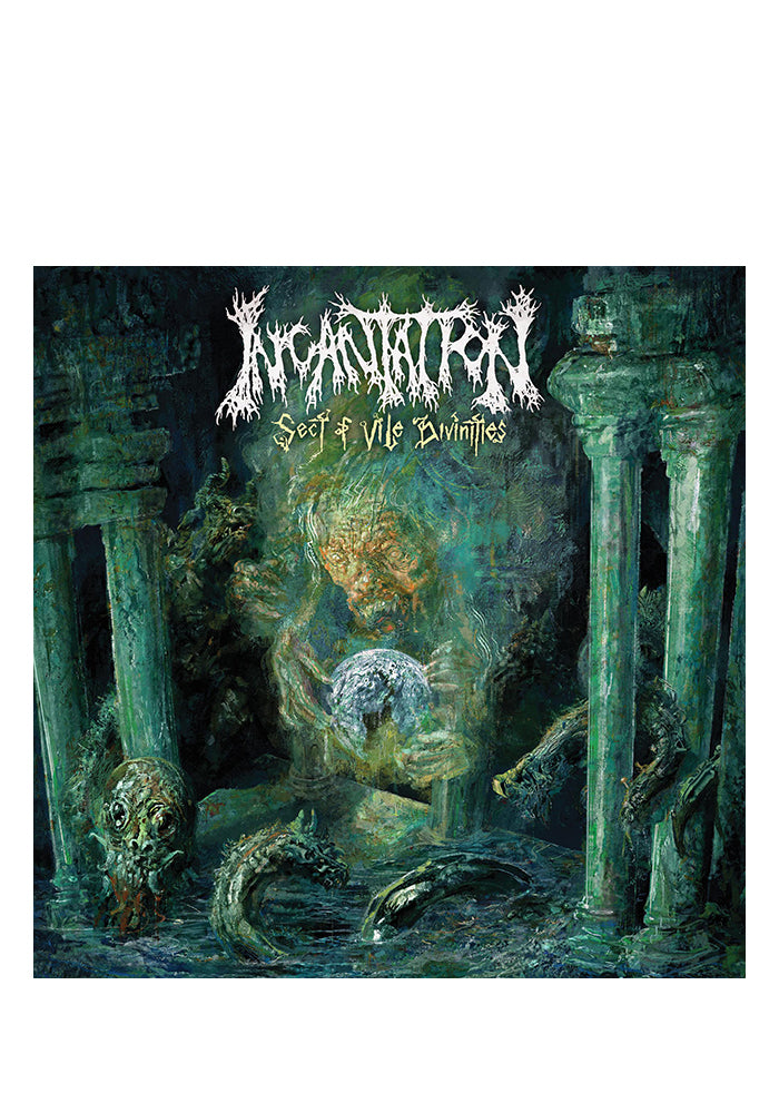 INCANTATION Sect Of Vile Divinities CD (Autographed)