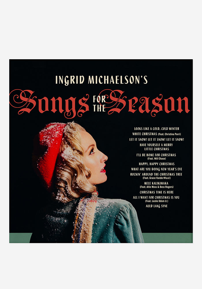INGRID MICHAELSON Songs For The Season CD With Autographed Booklet