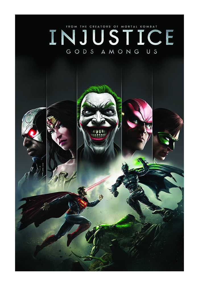 DC COMICS Injustice Gods Among Us Graphic Novel