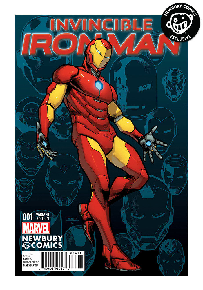 MARVEL COMICS The Invincible Iron Man Issue #1 - Mahmud Asrar Exclusive Cover
