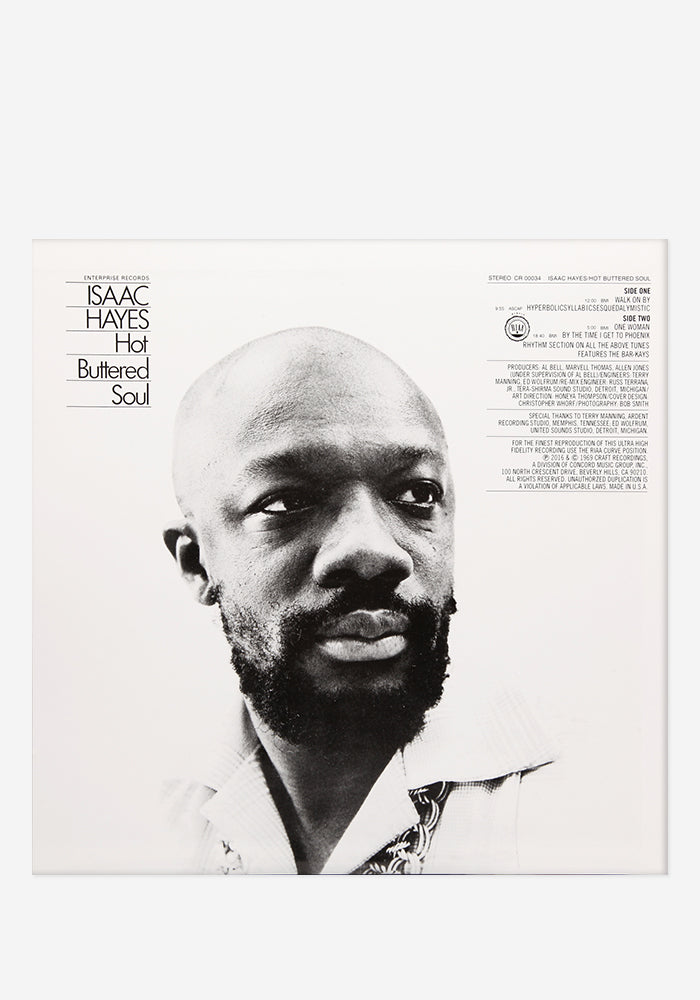 ISAAC HAYES Hot Buttered Soul Exclusive LP