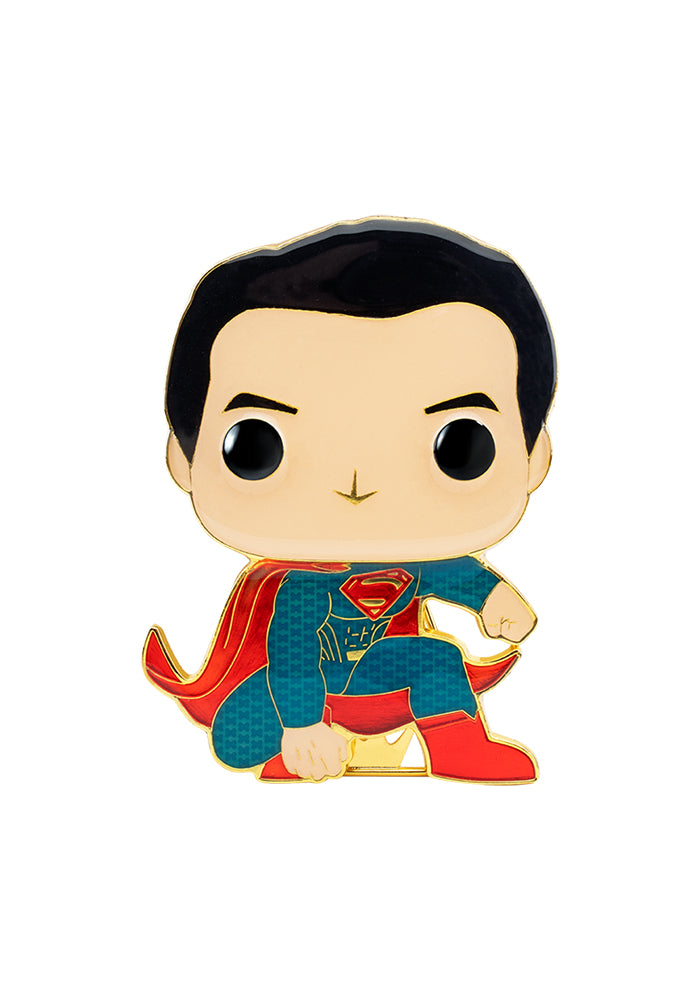 JUSTICE LEAGUE Funko Pop! 4-Inch Enamel Pin: DC Comics: Justice League - Superman