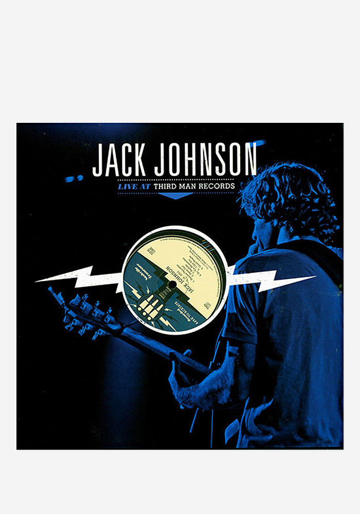 JACK JOHNSON Live A Third Man LP