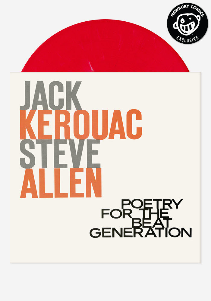 JACK KEROUAC / STEVE ALLEN Poetry For The Beat Generation Exclusive LP