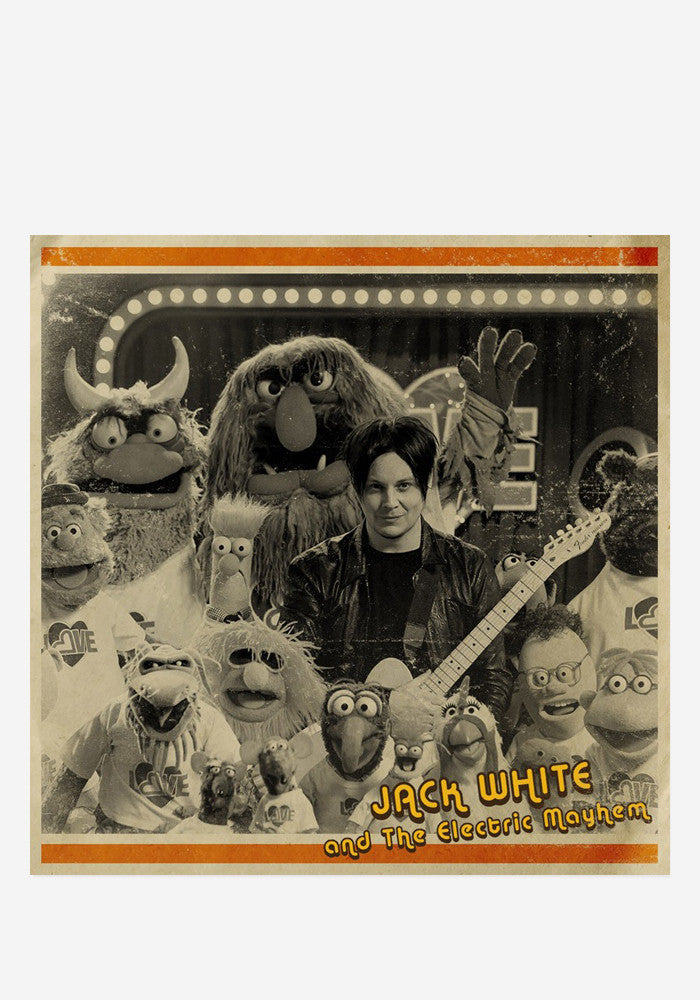 JACK WHITE & THE MUPPETS You Are The Sunshine Of My Life 7""