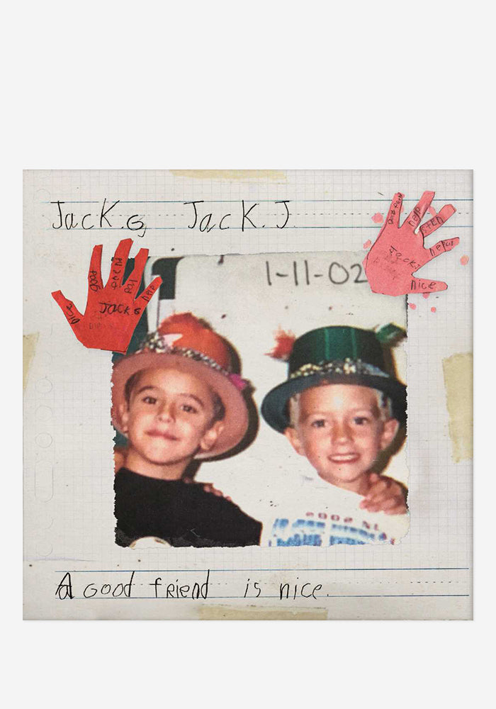 JACK & JACK A Good Friend Is Nice CD With Autographed Booklet