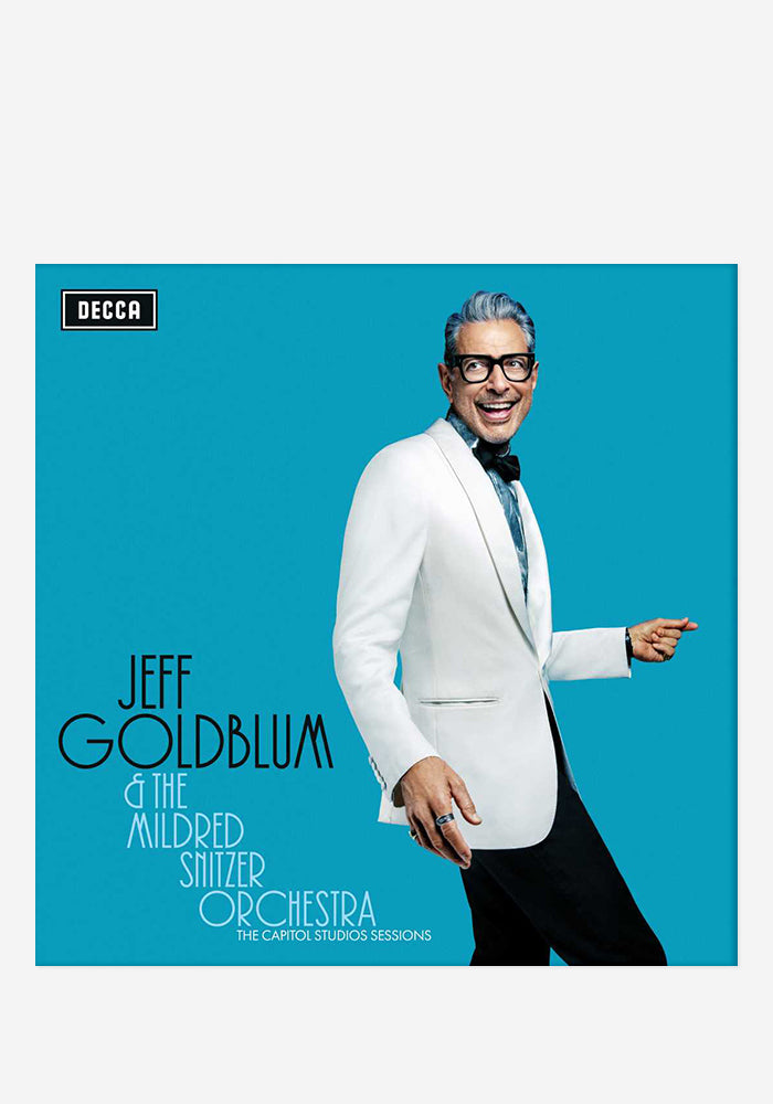 JEFF GOLDBLUM AND THE MILDRED SNITZER ORCHESTRA The Capitol Studios Sessions CD With Autographed Booklet