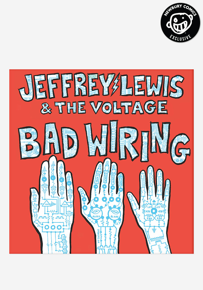 JEFFREY LEWIS Bad Wiring Exclusive LP