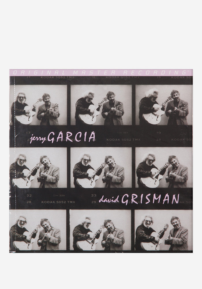 JERRY GARCIA & DAVID GRISMAN Jerry Garcia/David Grisman  2 LP