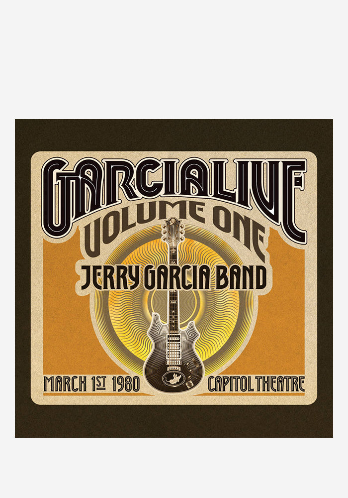 JERRY GARCIA BAND GarciaLive Volume One: March 1st, 1980 Capitol Theatre 5LP Box Set