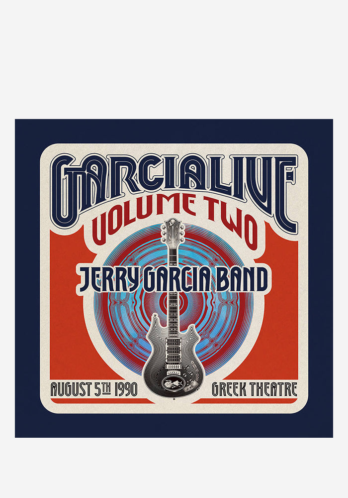 JERRY GARCIA BAND GarciaLive Volume Two: August 5th, 1990 Greek Theatre 4LP Box Set