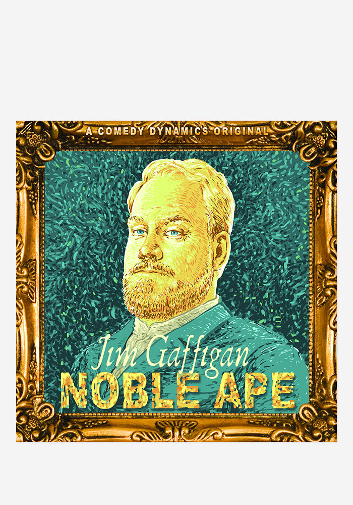 JIM GAFFIGAN Noble Ape Autographed CD