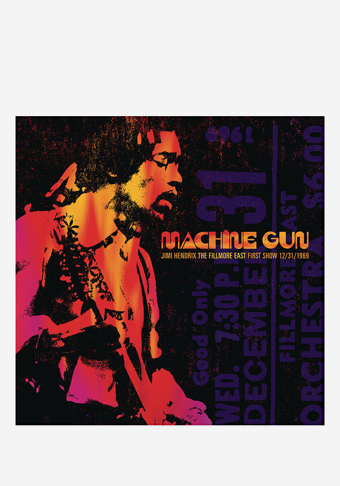 JIMI HENDRIX Machine Gun: The Filmore East First Show 12/31/1969 2 LP