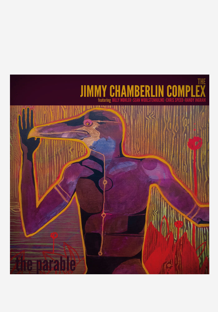JIMMY CHAMBERLIN COMPLEX The Parable With Autographed CD Jacket