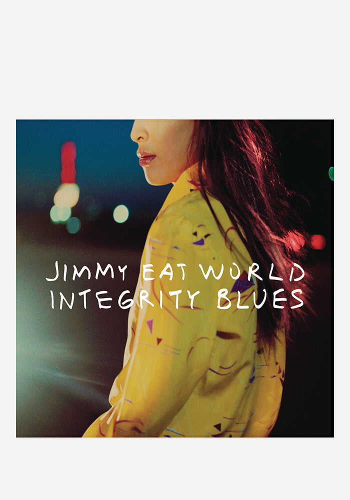 JIMMY EAT WORLD Integrity Blues With Autographed CD Booklet
