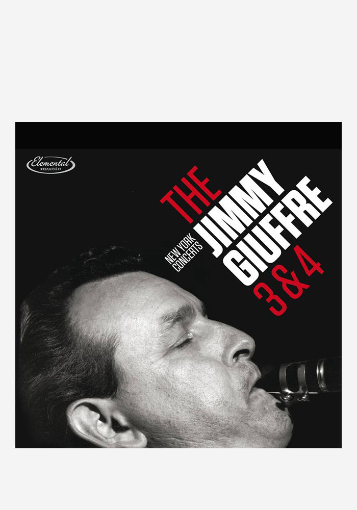 JIMMY GIUFFRE The 3 & 4: New York Concerts 2LP