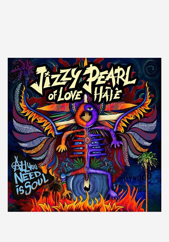 JIZZY PEARL All You Need Is Soul With Autographed CD Booklet