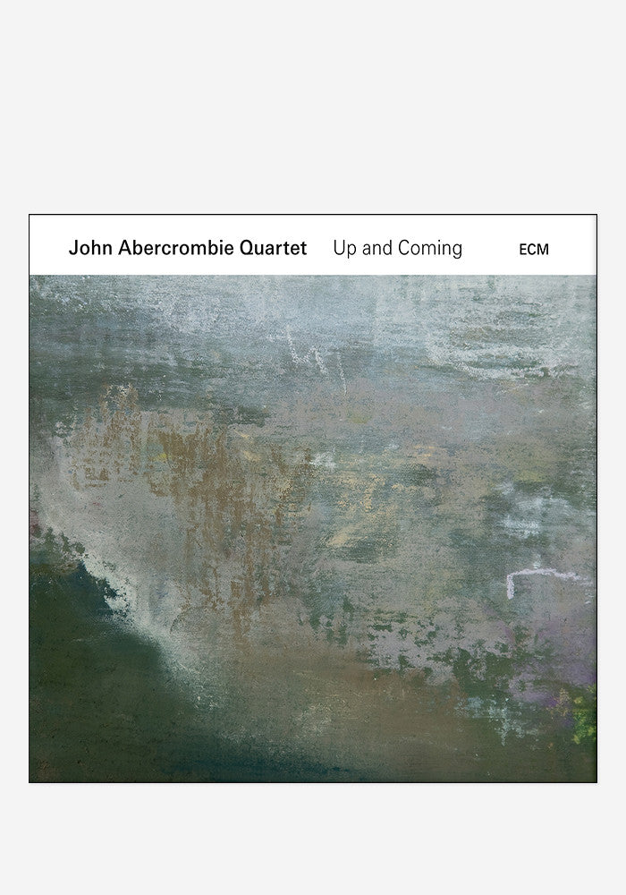 JOHN ABERCROMBIE QUARTET Up And Coming With Autographed CD Booklet