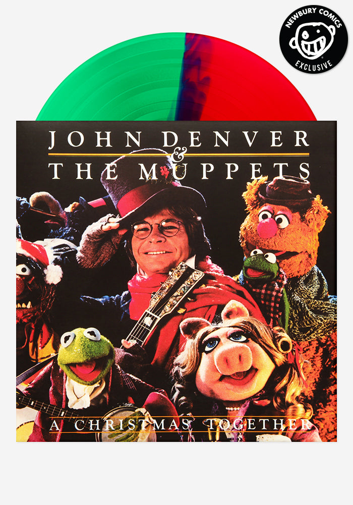 JOHN DENVER & THE MUPPETS A Christmas Together Exclusive  LP