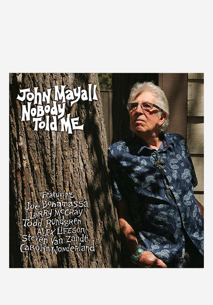 John Mayall Nobody Told Me Cd With Autographed Postcard