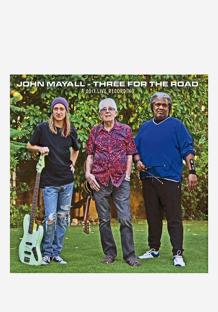 JOHN MAYALL Three For The Road With Autographed CD Digipak