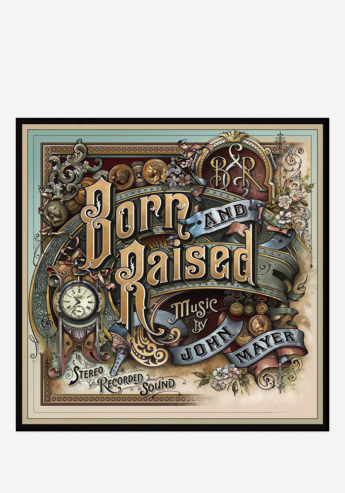 JOHN MAYER Born And Raised 2 LP + CD