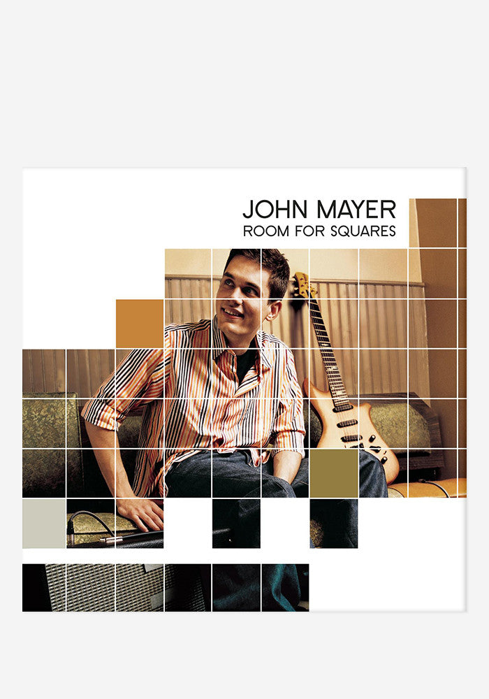 john mayer room for squares lp vinyl newbury comics. Black Bedroom Furniture Sets. Home Design Ideas