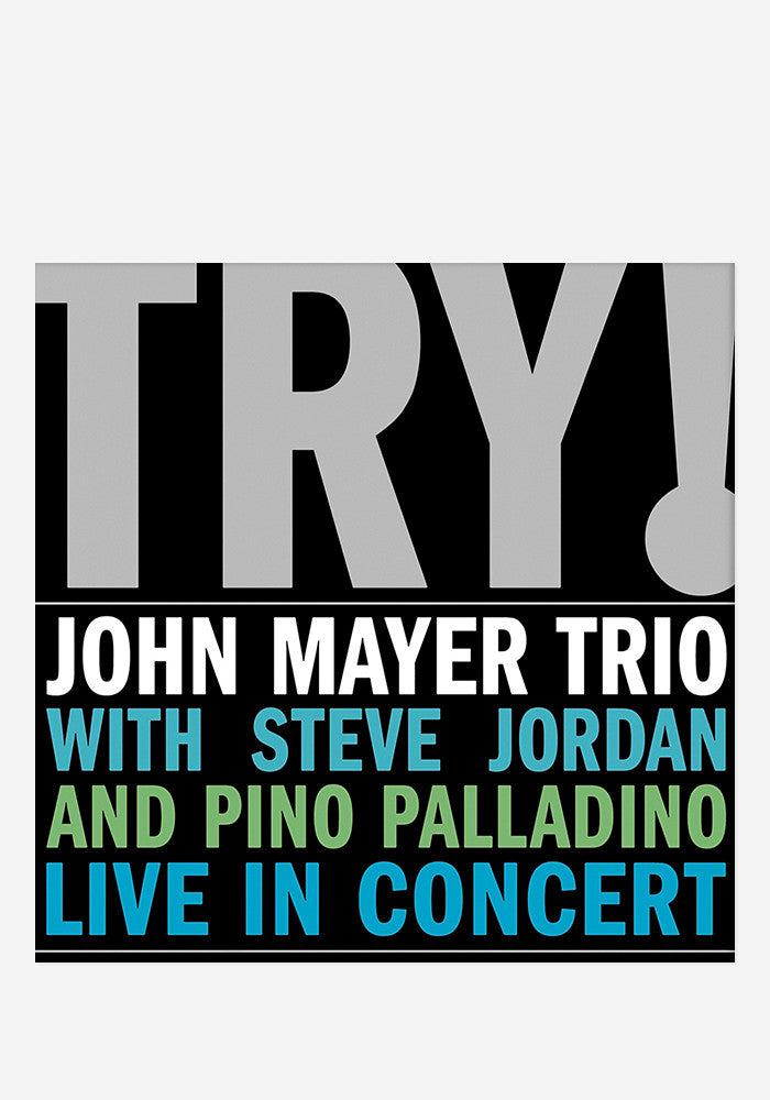 JOHN MAYER Try! John Mayer Trio Live 2 LP
