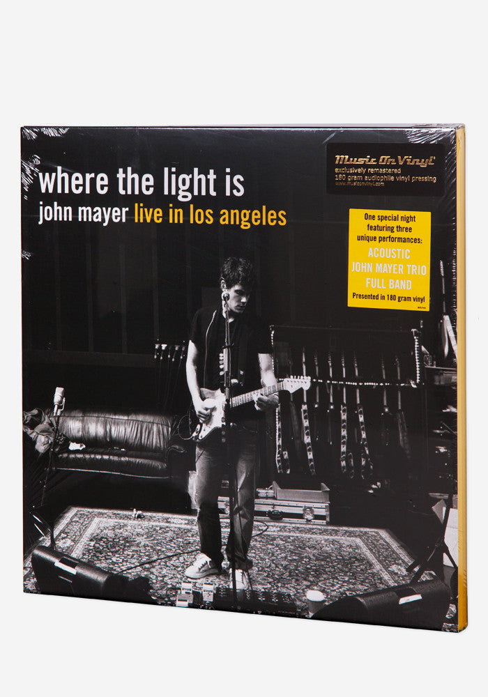 JOHN MAYER Where The Light Is  4 LP Box Set