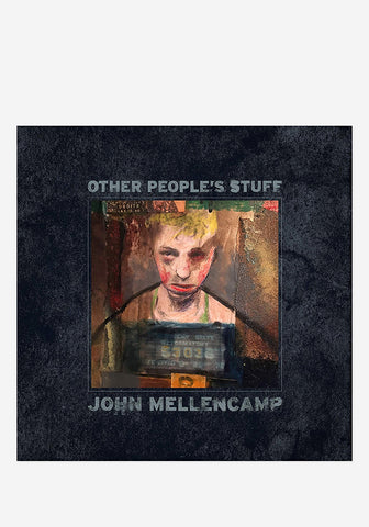 c0420aa9 John Mellencamp Other People's Stuff CD With Autographed Booklet