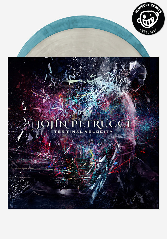 JOHN PETRUCCI Terminal Velocity Exclusive 2LP (With Autographed Postcard)