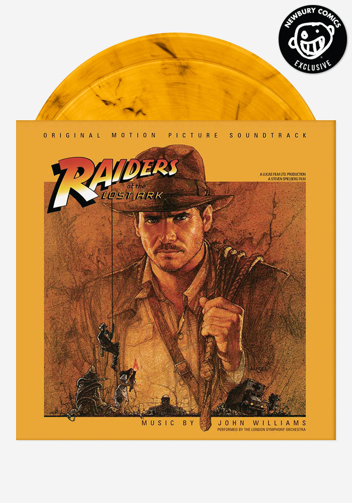 JOHN WILLIAMS Soundtrack - Raiders Of The Lost Ark Exclusive 2 LP