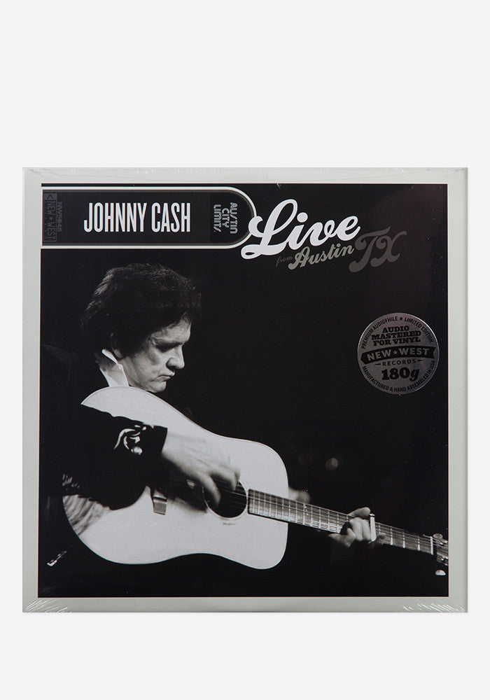 JOHNNY CASH Live From Austin,TX LP