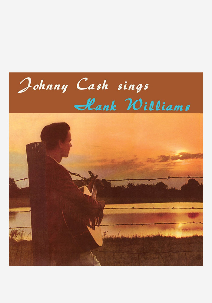 JOHNNY CASH Sings Hank Williams LP