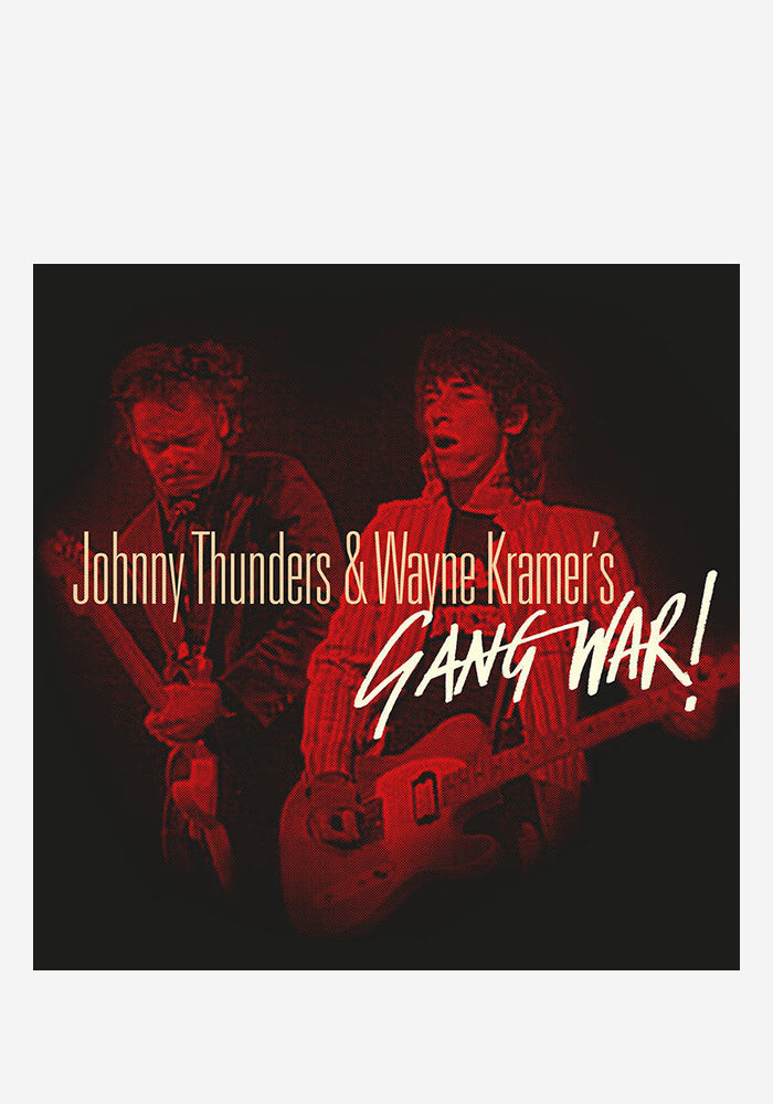JOHNNY THUNDERS / WAYNE KRAMER Gang War 2LP (Color)