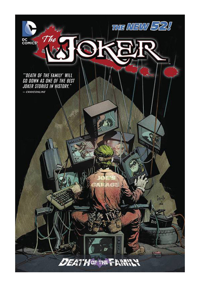 DC COMICS Joker Death Of The Family Graphic Novel
