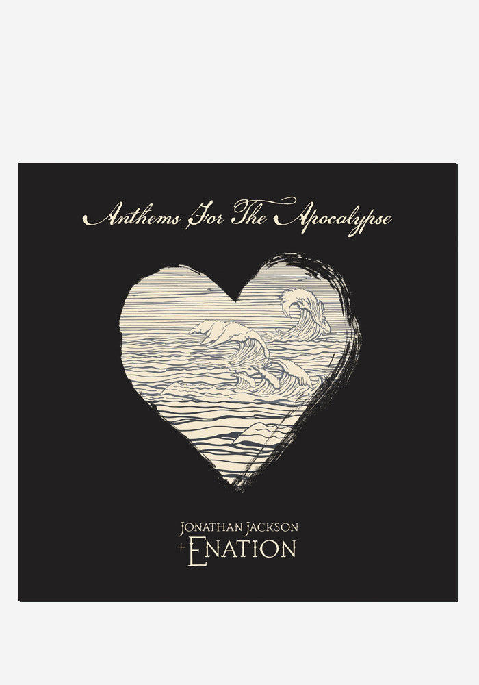 JONATHAN JACKSON + ENATION Anthems For The Apocalypse With Autographed CD Booklet