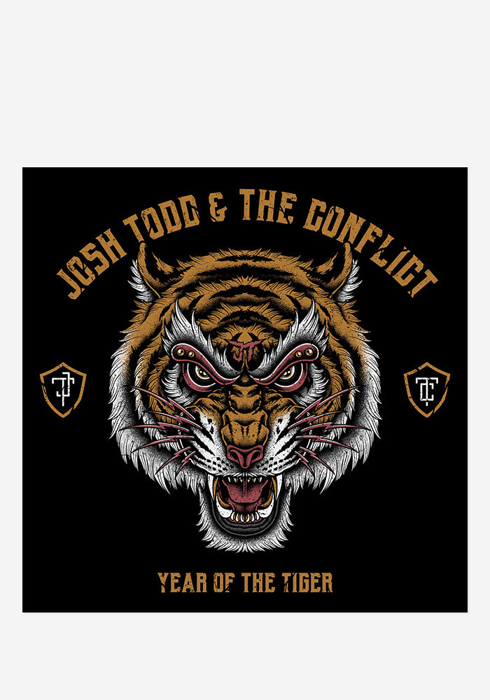 JOSH TODD & THE CONFLICT Year Of The Tiger With Autographed CD Booklet