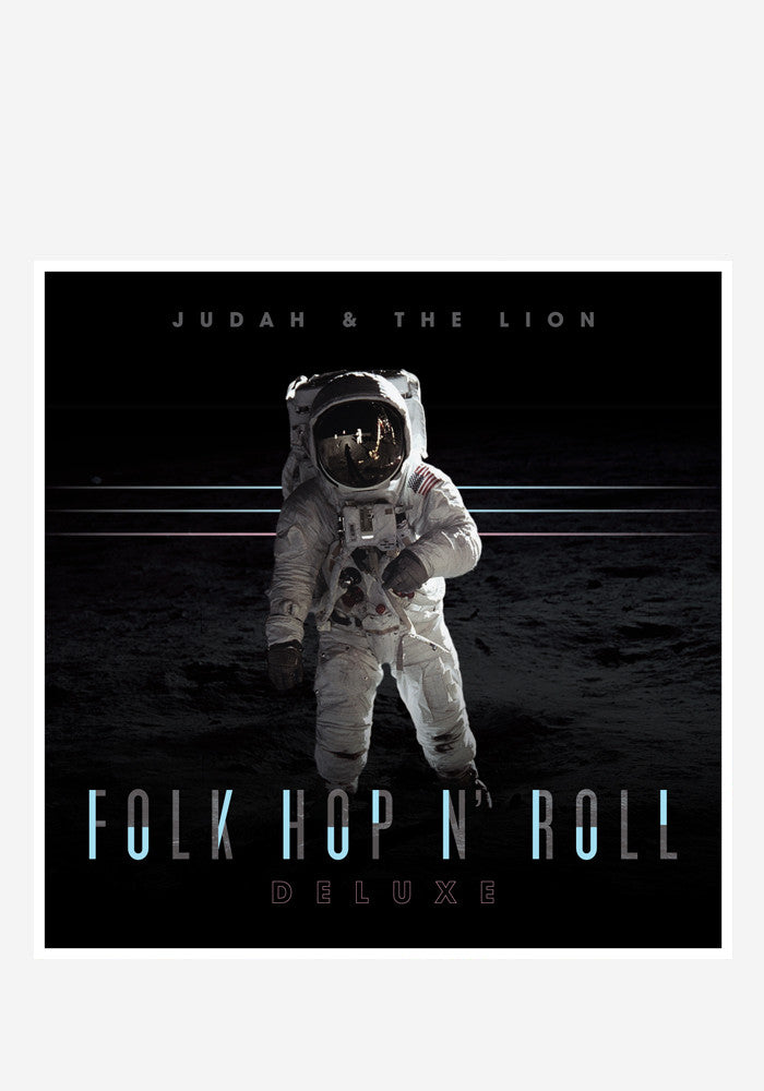 JUDAH & THE LION Folk Hop N' Roll CD With Autographed Postcard