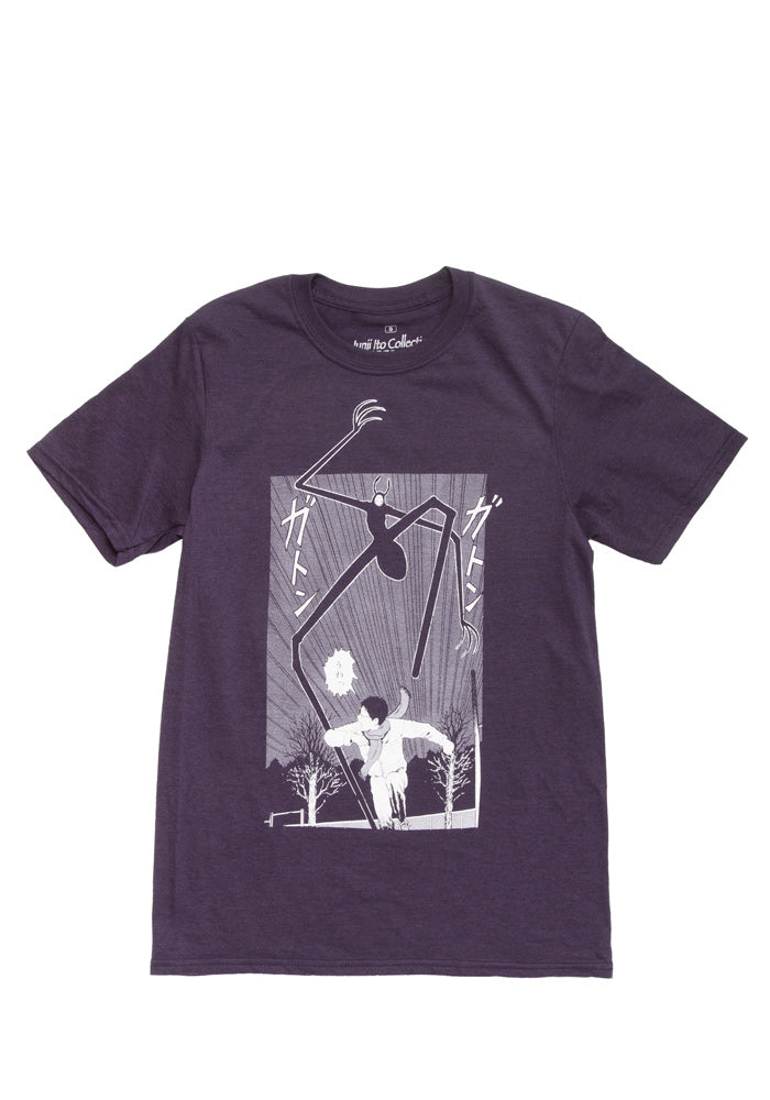 JUNJI ITO Running Away T-Shirt - Dark Purple Heather