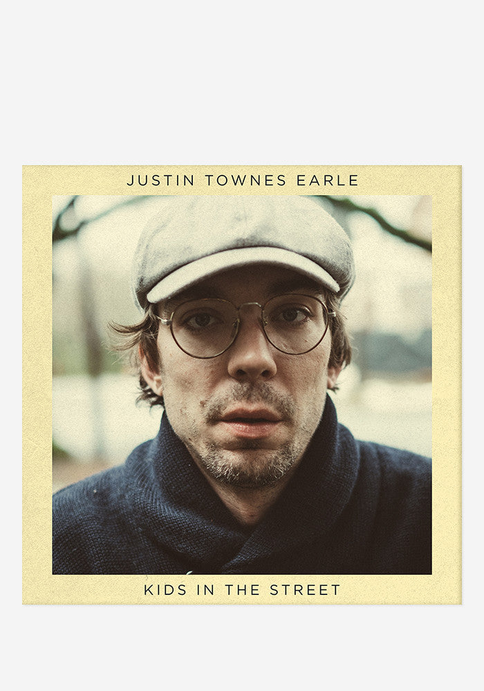 JUSTIN TOWNES EARLE Kids In The Street With Autographed CD Booklet