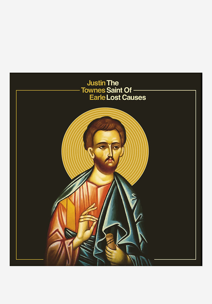 JUSTIN TOWNES EARLE The Saint Of Lost Causes Autographed CD Digipak