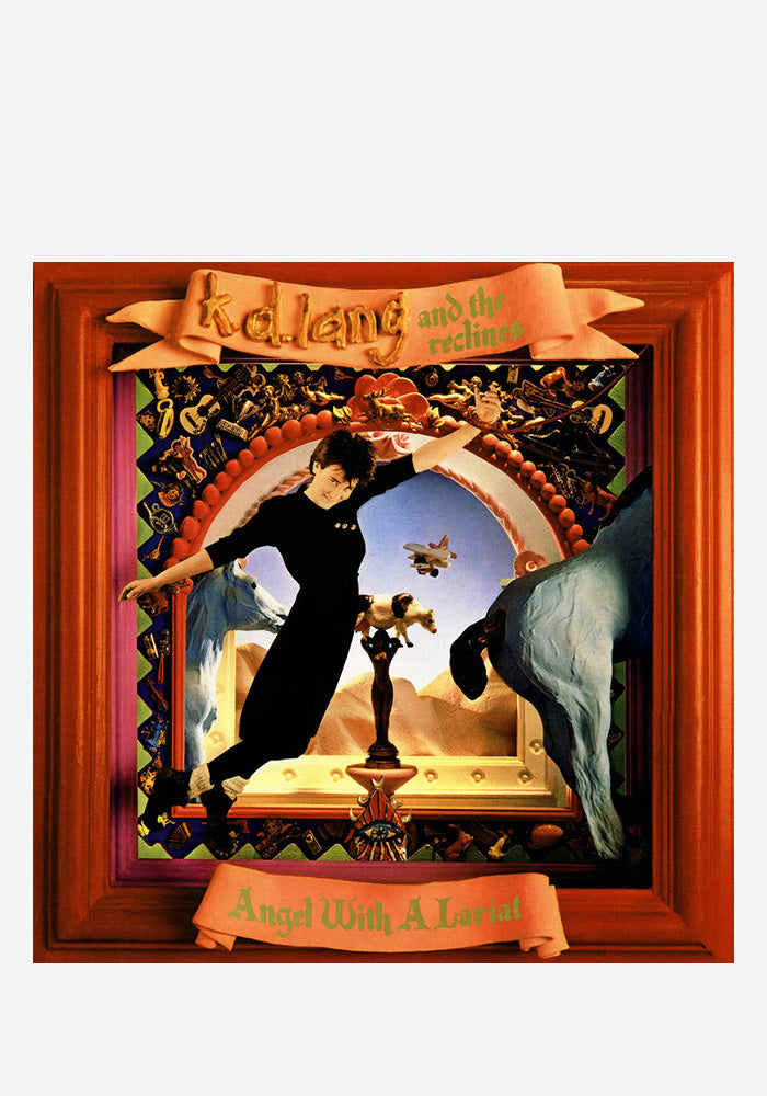 K.D. LANG & THE RECLINES Angel With A Lariat LP (Color)