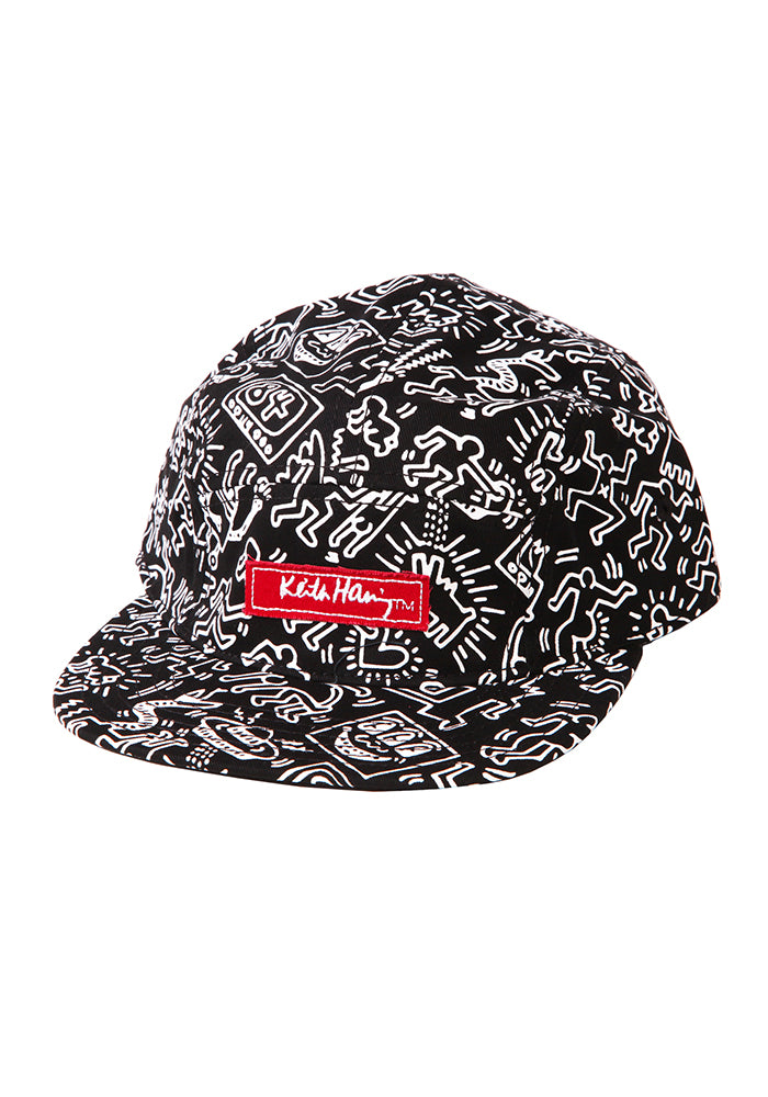 KEITH HARING Keith Haring All Over Strapback Hat