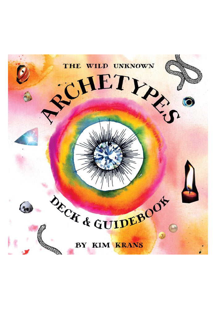 KIM KRANS The Wild Unknown Archetypes Deck & Tarot Guidebook