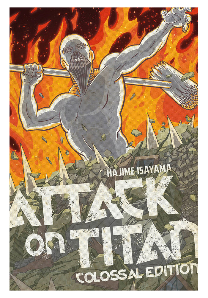 KODANSHA COMICS Attack On Titan: Colossal Edition 5 Manga