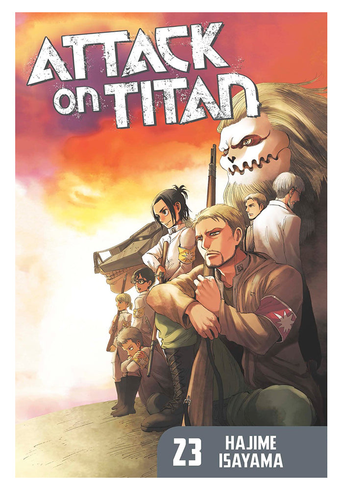 KODANSHA COMICS Attack On Titan 23 Manga
