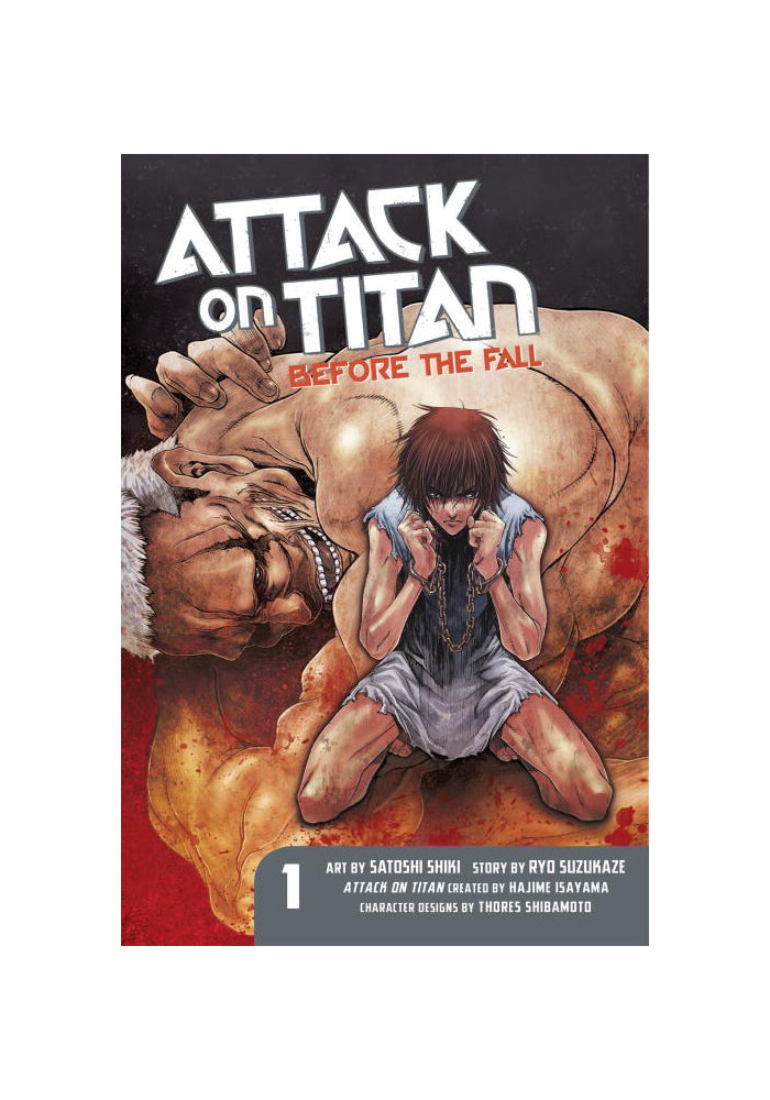 KODANSHA COMICS Attack On Titan: Before The Fall 1 Manga