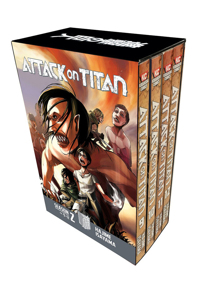 KODANSHA COMICS Attack On Titan Season 2 Manga Box Set Manga