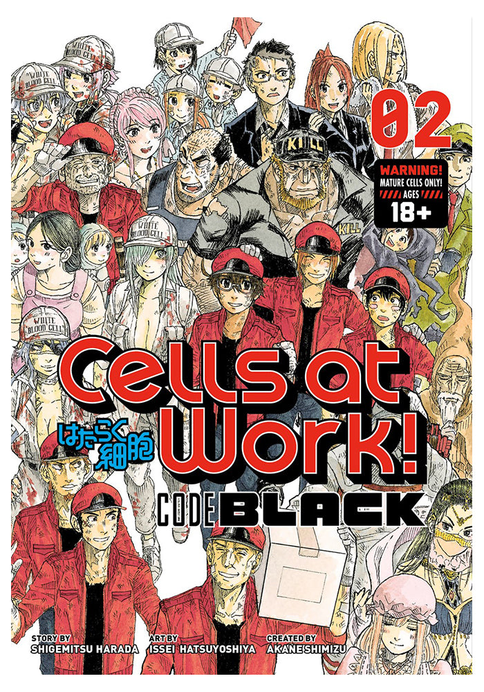 KODANSHA COMICS Cells at Work! CODE BLACK Vol. 2 Manga